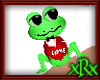 Love Frog Red Tux