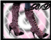 pink leopard boots
