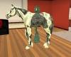 Celtic Chrome Horse Pet