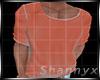 $Tshirt Effct Neon Orang
