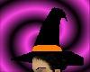 Black + orange witch hat