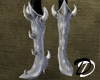 Metal Goth Demon Boots W