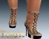 Diva Heels Light Brown