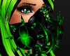 *Green Gas Mask Toxic