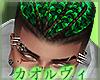 Dreads Hair- Green