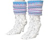 Snowy Blue Matching Boot