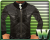 *WW* Brown Leather Coat