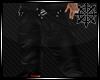 (AR) Black Baggy Cargos