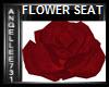 RED LOVE ROSE SEAT