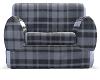 !HM! Gray Plaid Chair