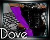 DC! Lush Gloves Purple