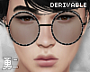 Y' Drv. Round Glasses