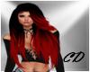 CD Hair Black/Red