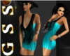 [G] Aqua Dress