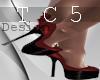 Devilish heels red