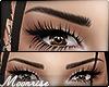 m  Dark brown eyebrows