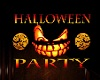 3D Halloween Party Sign