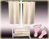 Twins Striped Towels