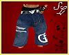 Armani Shorts M ~blue~