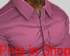 Smart Tight Shirt Pink