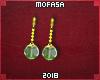 New Potara earrings.