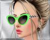 Green Zebra Sunglasses