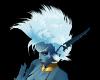 Icy blue Rachel