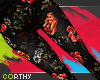 [C] Flowers Pants