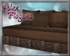 AF*Classic Brown Couch