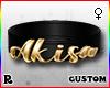 ☢! Akisa Collar Gold