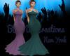 -BUN-Purple Evening Gown