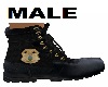 Police Boots Male