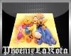 Winnie Pooh Square Rug