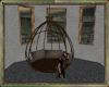 Wooden Cage Swing