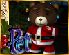 I~Pet Cocoa Santa Bear