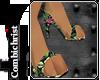 Flamingo Paw Heels