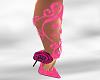 *AL* Floral Vine Pink