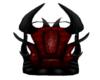 Red Goth throne GA