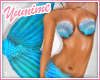 [Y] Mermaid Fit ~ Cyan