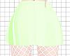 Av! Lime Skirt + Fishnet
