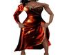 fiery red dress