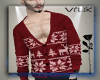 vk. Sweater Xmas Red