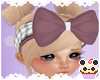 +Dusty Plaid Hair Bow