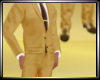 Gold Suit Shoes Skinny T