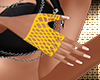 Gold Fishnet Gloves