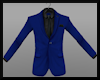 MaleSuitTop Blue/Blk