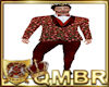 QMBR CandyMan Suit Red