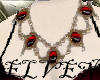 ELVEN RedStone Necklace