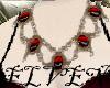 ELVEN RedStone Necklace