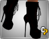 *cp*Laced Heel Boots